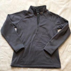 Under armour gray 1/4 zip loose medium sweatshirt